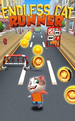Subway Cat Runner -Online Rush  screenshots 1