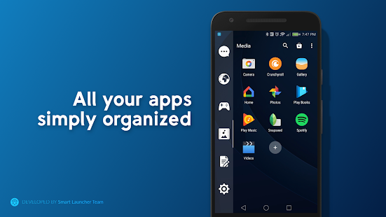 Smart Drawer - Apps Organizer Screenshot