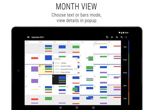 Business Calendar 2 - Agenda, Planner & Widgets 2.41.4 Screenshots 14