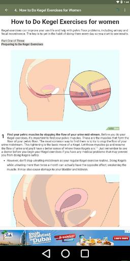 Pubococcygeus exercises for men