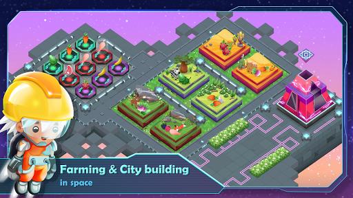 SciFarm - Farming Game in the space, City-building apkdebit screenshots 1