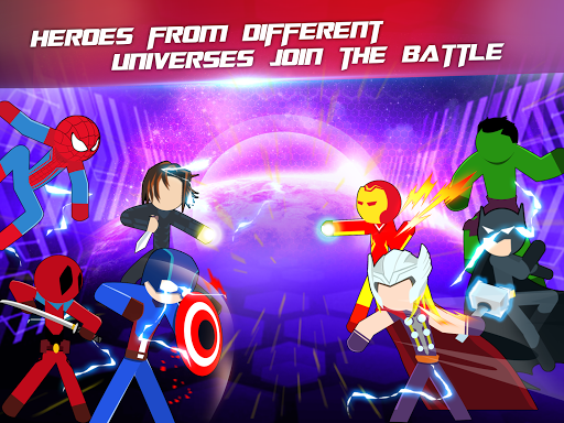 Super Stickman Heroes Fight 2.2 screenshots 12