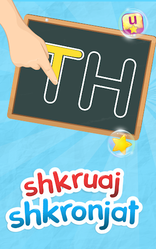 Shkruaj Shkronjat e Alfabetit Shqip  screenshots 10