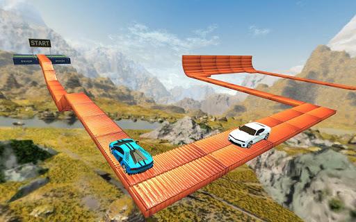 Impossible Car Stunt Game 2021 - Racing Car Games screenshots 4