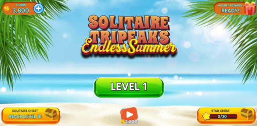 Solitaire Tripeaks - Endless Summer modavailable screenshots 11