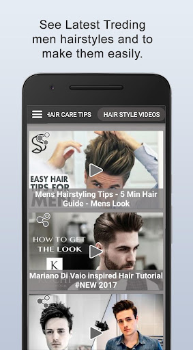Boys Men Hairstyles and boys Hair cuts 2021 apktram screenshots 12