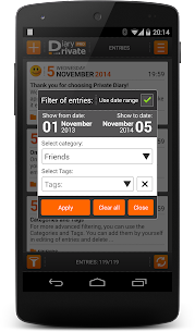 Private DIARY Pro – Personal journal 4