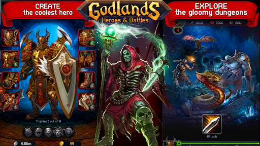 Godlands RPG - Fight for Throne : Legendary Story 1.30.13 screenshots 22