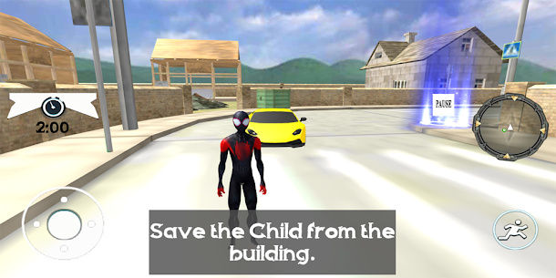 Spider Robe Hero : Vice Vegas Rescue Game Online Hack Android & iOS 1