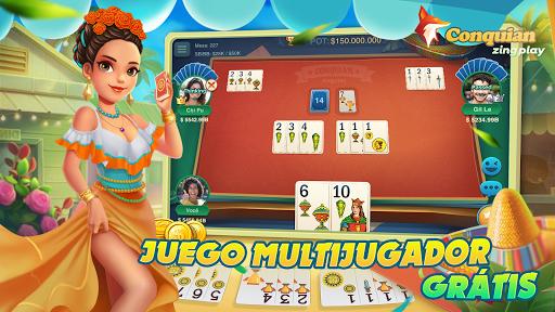 Conquian Zingplay: el mejor juego de cartas gratis 6.0 screenshots 2