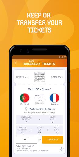 Download UEFA EURO 2020 Mobile Tickets mod apk 2