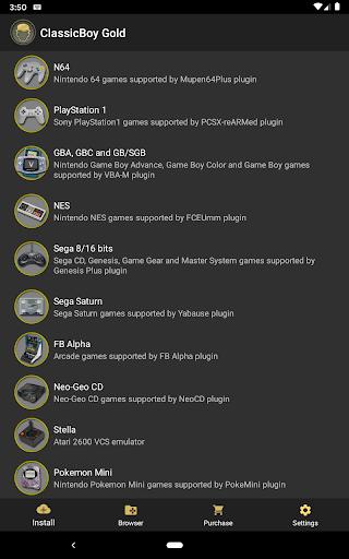 ClassicBoy Gold (64-bit) Game Emulator  screenshots 12