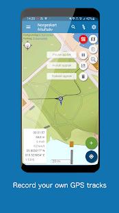Norgeskart Outdoors - Offline maps & trips Norway