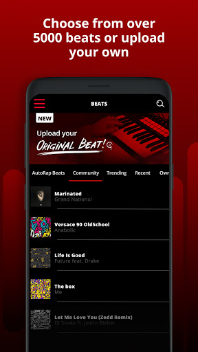 AutoRap by Smule: Record rap over beats w/vocal FX android2mod screenshots 2