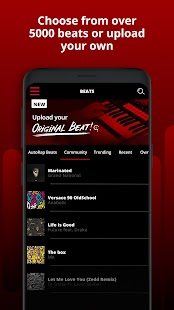 AutoRap by Smule: Record rap over beats w/vocal FX Screenshot