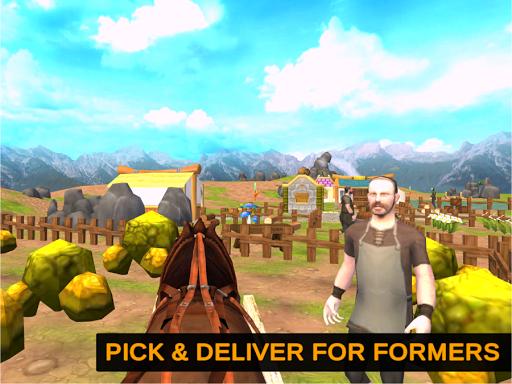 Horse Cart Offroad Farming Transport Simulator 1.2 screenshots 14
