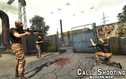 Call of FPS Shooting Modern Sniper Duty Ops Hack Cheats (iOS & Android) 5