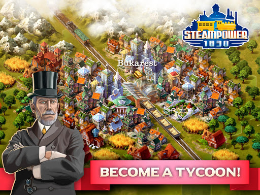 SteamPower 1830 Railroad Tycoon apkslow screenshots 6