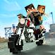 オフロード サバイバル ブロックモト - オートバイ レース - Androidアプリ