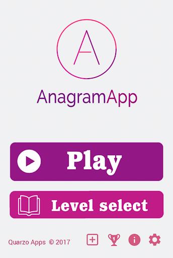 AnagramApp. Word anagrams 1.0.7 screenshots 2