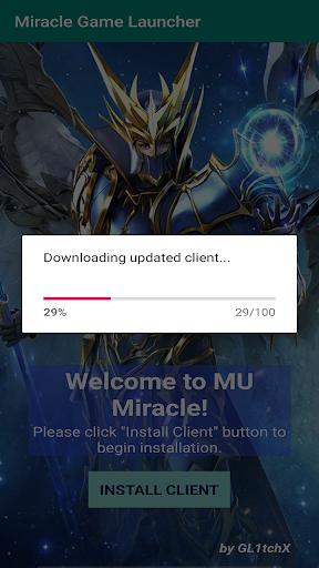 miracle origin launcher screenshot 2