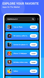 App Store Your Play Store - iphone Style App Store 1.1 Screenshots 2