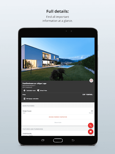 Homegate - apartments to rent and houses to buy 10.7.0 Screenshots 10