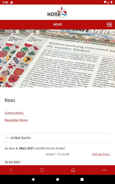 Horb-App screenshot 10