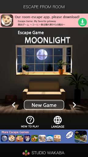 Room Escape Game: MOONLIGHT apkpoly screenshots 1