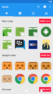 MaterialOS Icon Pack Screenshot