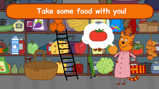 Kid-E-Cats: Picnic with Three Cats・Kitty Cat Games 3