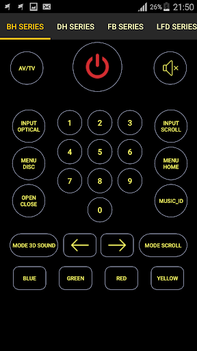 Remote for LG TV / Devices : Codematics 1.5 Screenshots 6