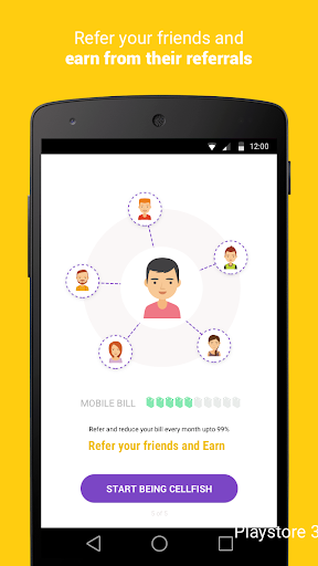 Cell.Fish - Safe SMS, Slick Dialer, Save Money Wiz apktram screenshots 3