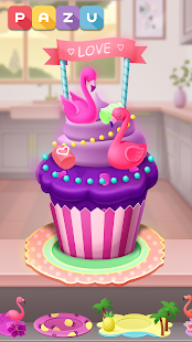 Cupcake maker - Cooking and baking games for kids
