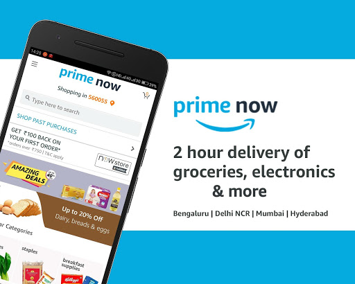 Amazon Prime Now Apk 1