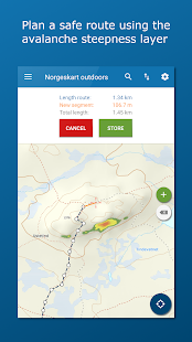 Norgeskart Outdoors: Maps of Norway