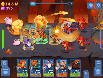 Semi Heroes: Idle & Clicker Adventure - RPG Tycoon Screenshot