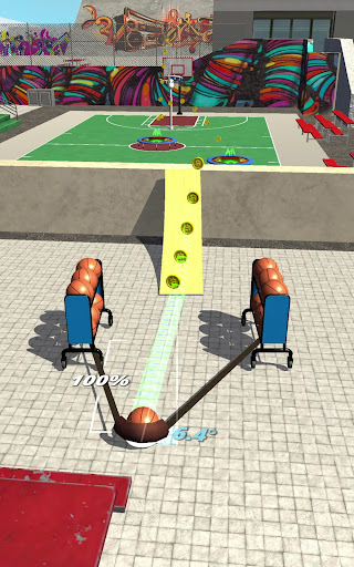 Slingshot Basketball! modavailable screenshots 13