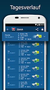 SRF Meteo - Wetter Prognose Schweiz 2.12 Screenshots 3