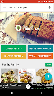Gluten free Recipes: Healthy Cookbook
