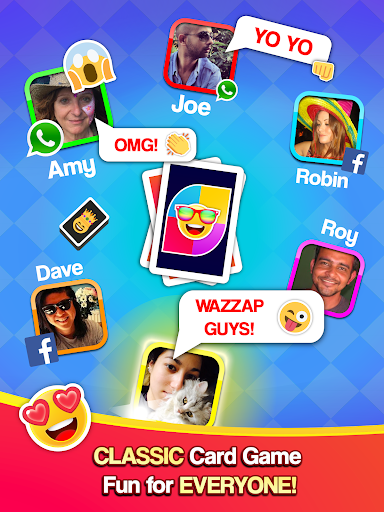 Card Party! Uno Online Games with Friends Family  screenshots 9