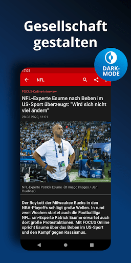 FOCUS Online - Nachrichten: Die schnelle News App android2mod screenshots 6