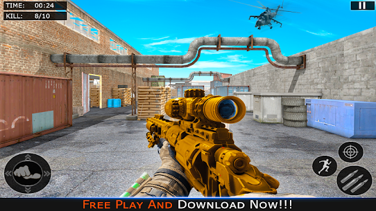 Police Counter Terrorist Strike Battlegrounds Hack for Android and iOS 2