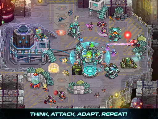 Iron Marines: RTS Offline Real Time Strategy Game 1.6.3 screenshots 11