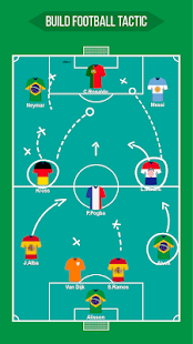 Football Squad Builder - Strategy, Tactic, Lineup 2.6.7 Screenshots 3