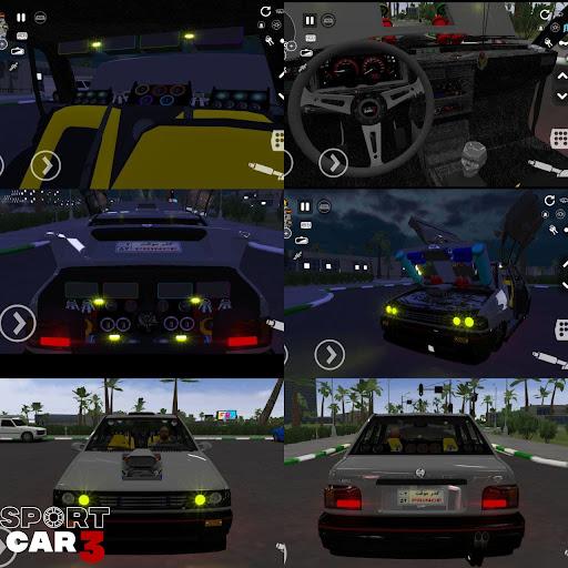 Sport car 3 : Taxi & Police -  drive simulator  screenshots 3