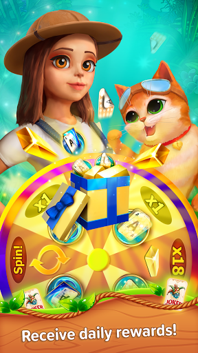 Little Tittle u2014 Pyramid solitaire card game 1.78 screenshots 5