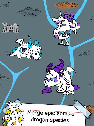 Zombie Dragon Evolution - Create Epic Monsters  screenshots 11