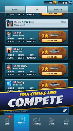 TAP SPORTS Fishing Game  screenshots 23