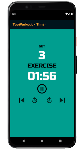 TopWorkout routine and workout sheet android2mod screenshots 5